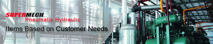 pneumatic cylinder,cylinder kits,cylinder tube,piston rod,cylinder monuting,pneumatic valve,SUPERMECH